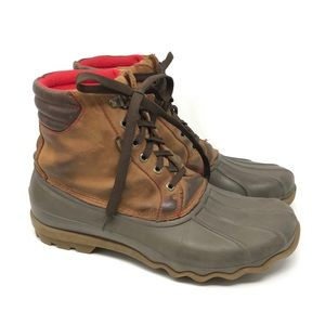 Sperry Topsider Avenue Brown Duck Boots 11